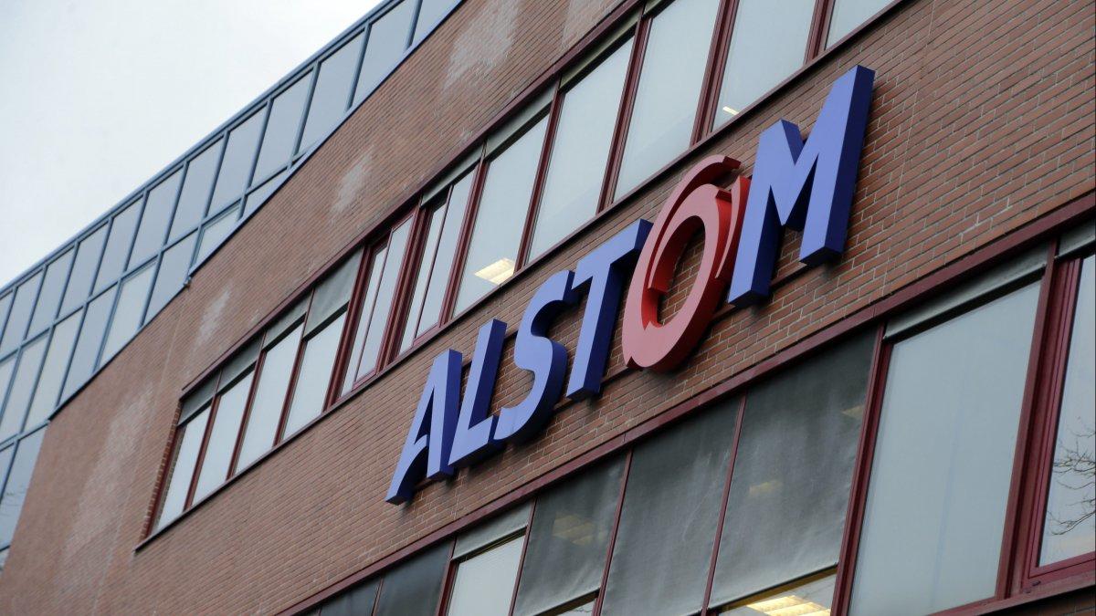 Alstom Belfort France train