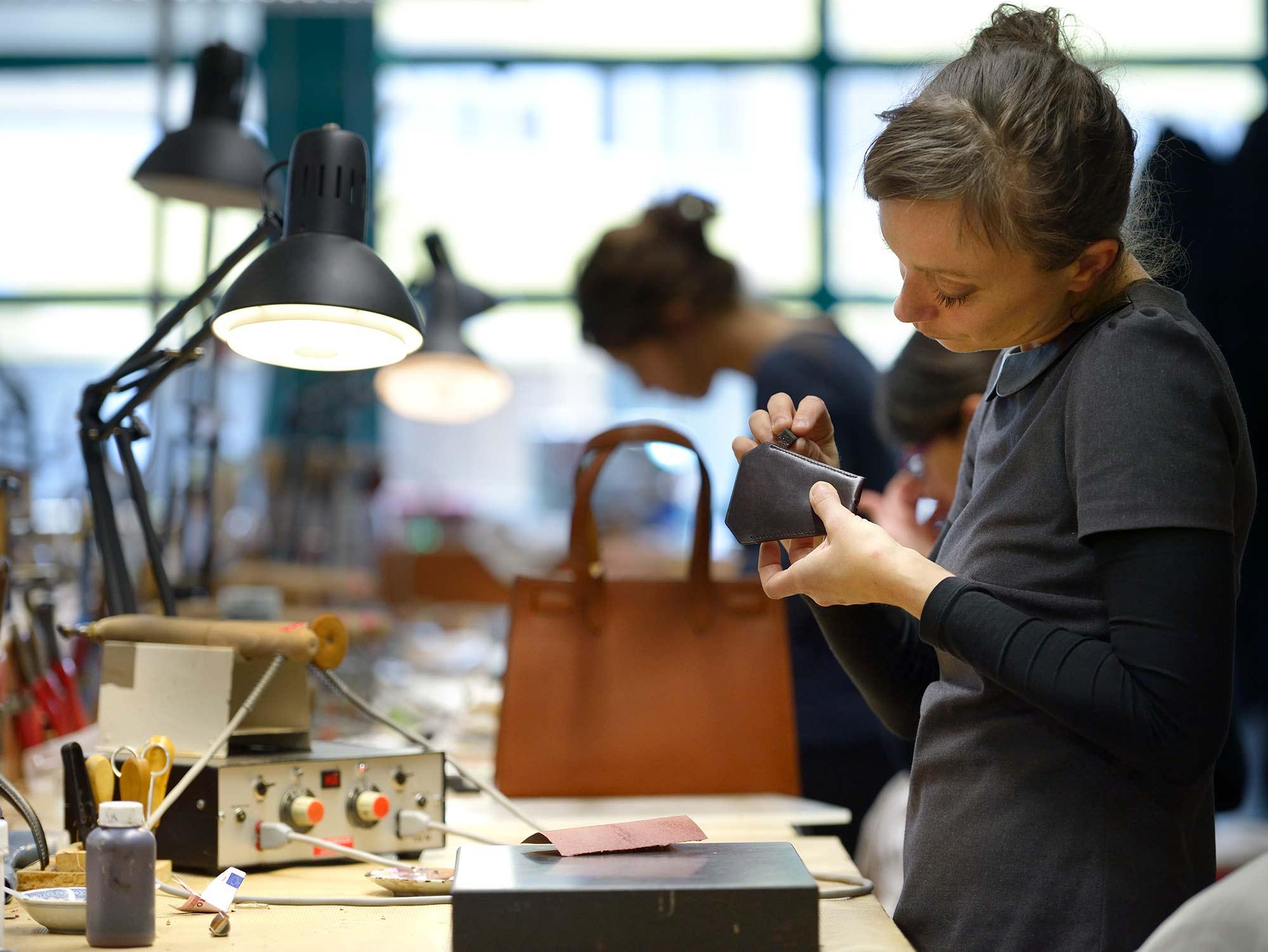 atelier Hermès cuir