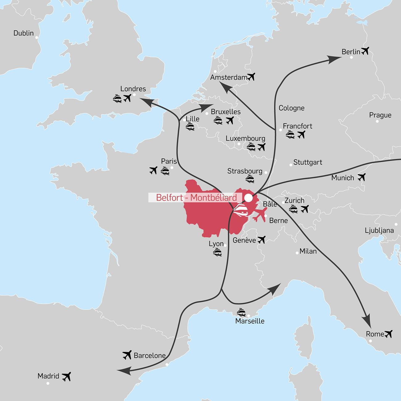 Documentation - Cartographie du Nord Franche-Comté