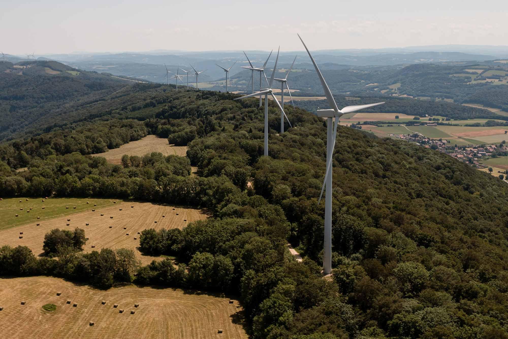 Énergie renouvelable éolienne