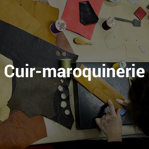 Investir filière cuir-maroquinerie