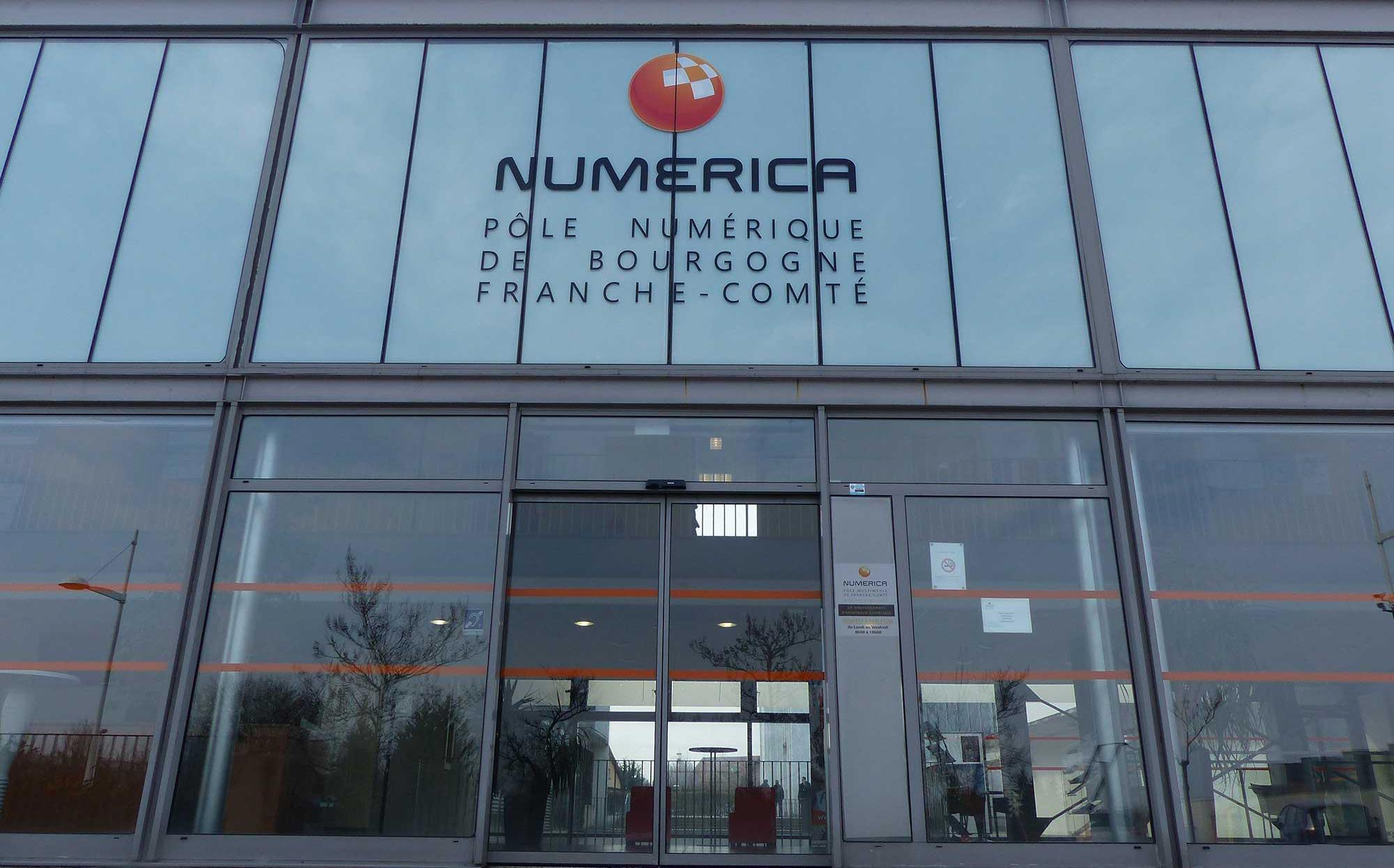 Numerica - pôle numérique de Bourgogne Franche-Comté
