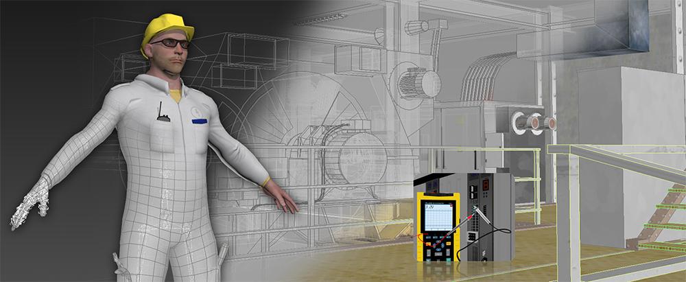 3D numérique technical serious games power conversion