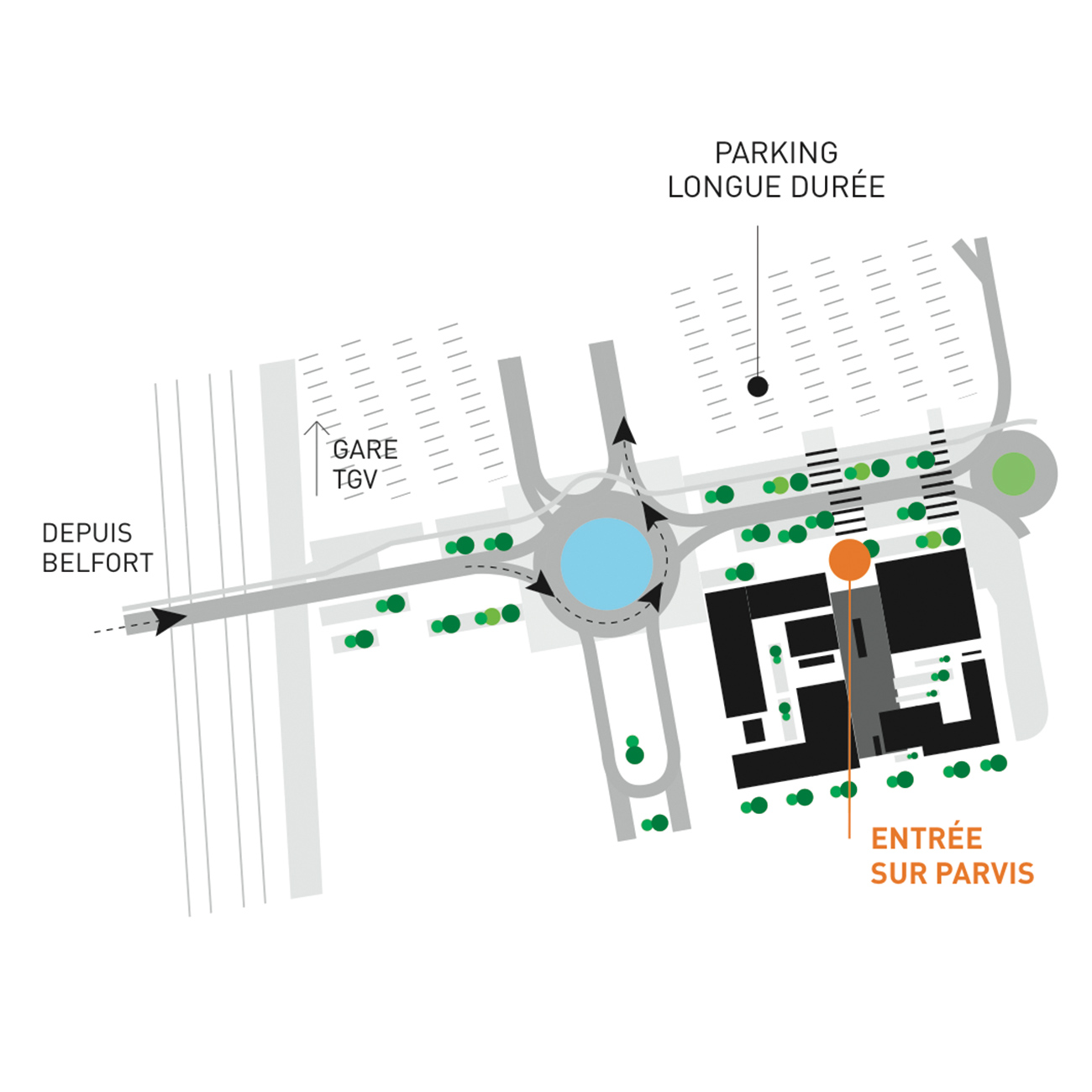 Documentation - Plan d'accès à la Jonxion