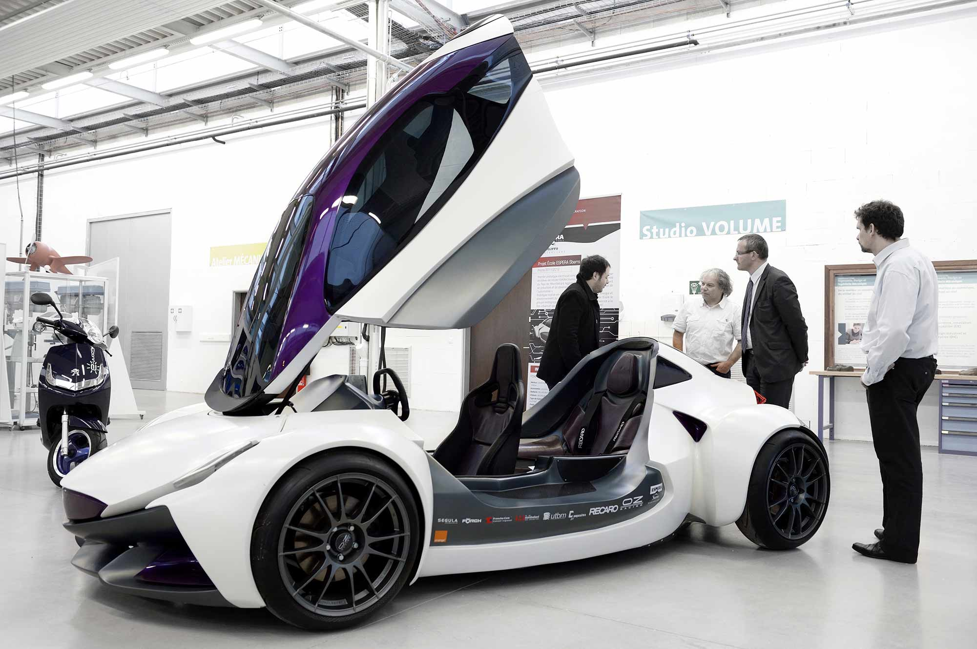 Sbarro Intencity - UTBM - mondial de l'auto
