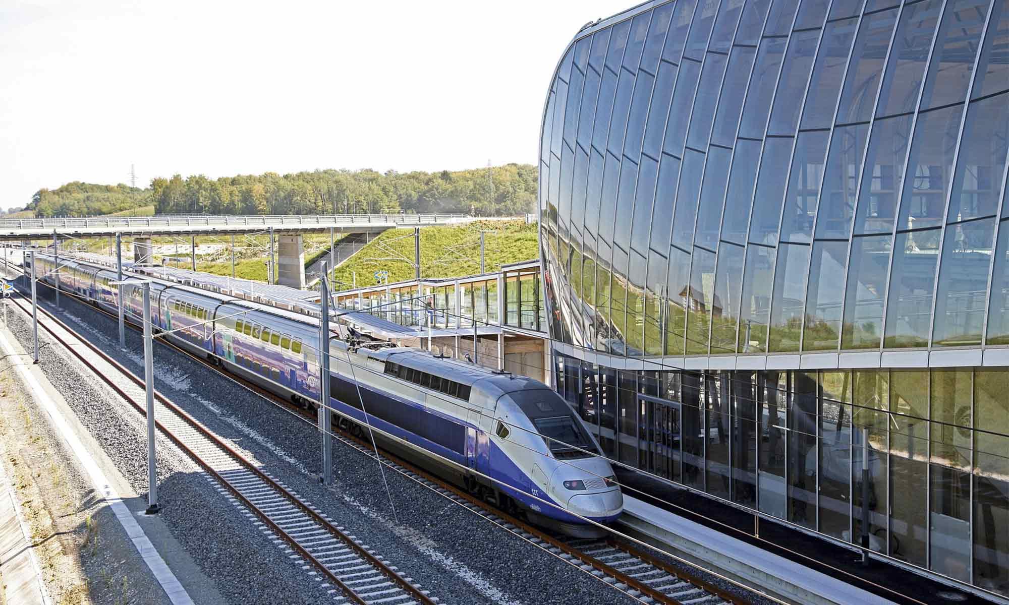TGV Alstom Bâle-Mulhouse Belfort-Montbéliard