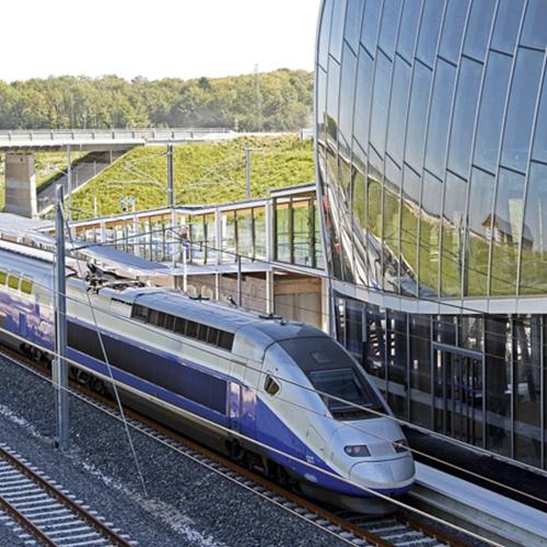 TGV Alstom Bâle-Mulhouse Belfort-Montbéliard franco-suisse