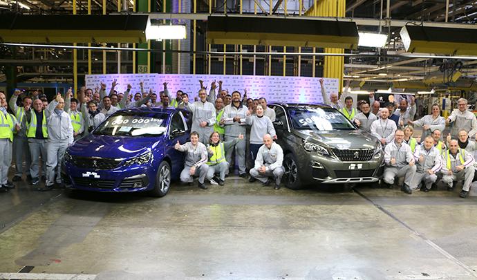 Productivité et qualité en Nord Franche-Comté - Peugeot 3008 et 5008