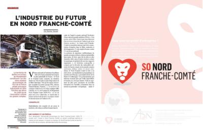 newsletter-adnfc - L'industrie du futur en Nord Franche-Comté