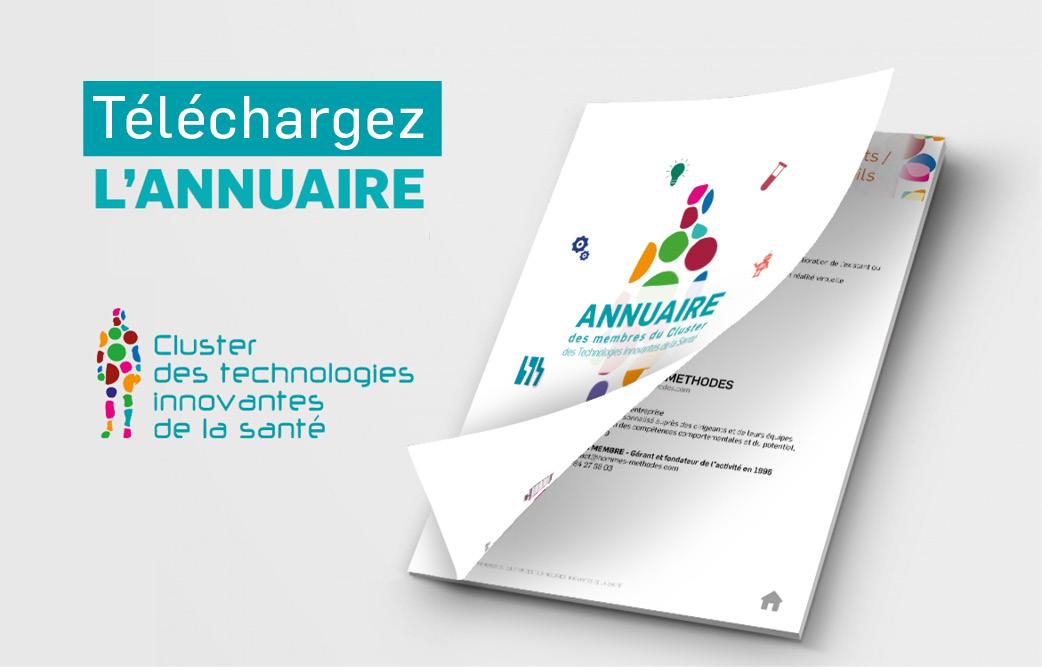 Téléchargez l'annuaire du Cluster des Technologies Innovantes de la Santé