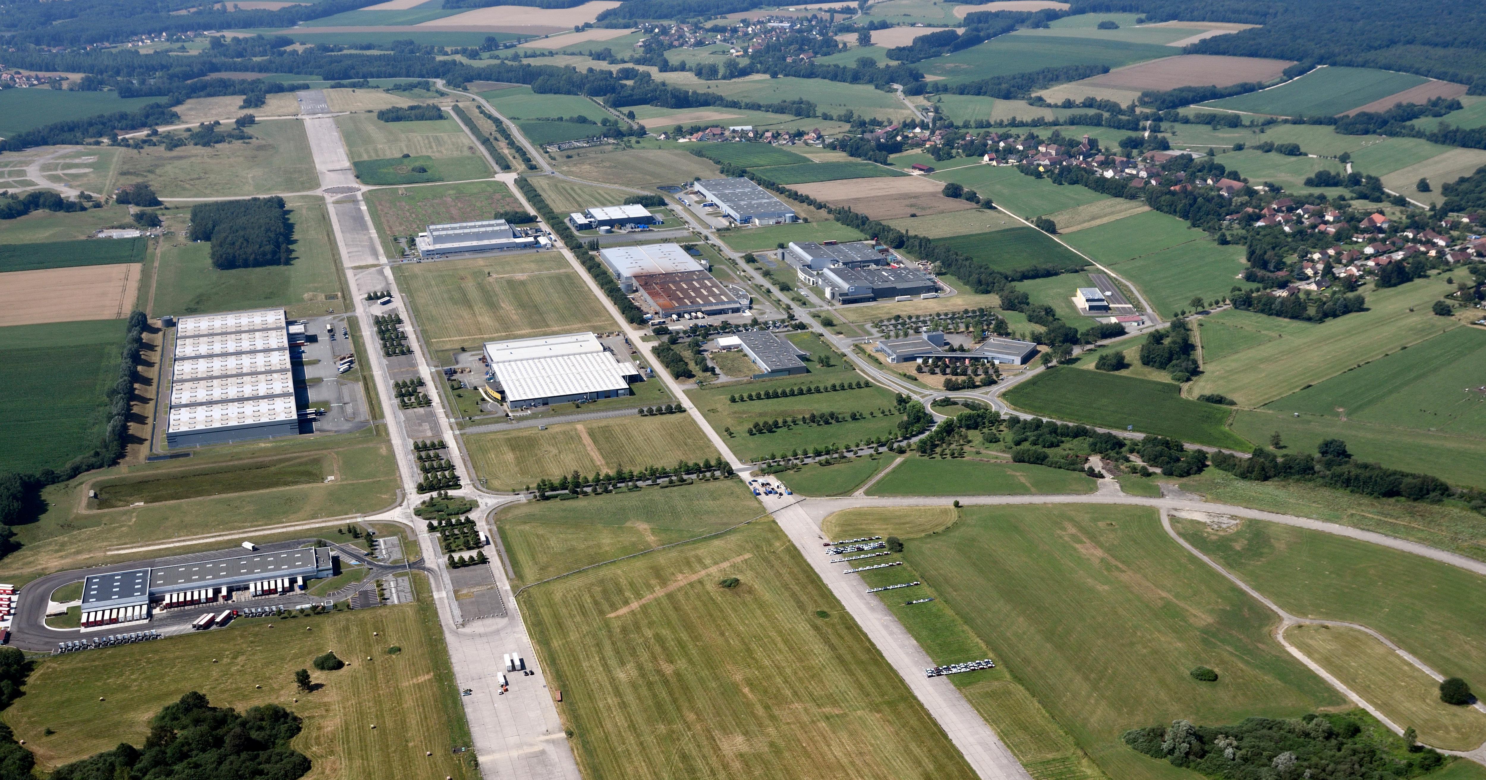 Aéroparc de Fontaine - Vue aérienne