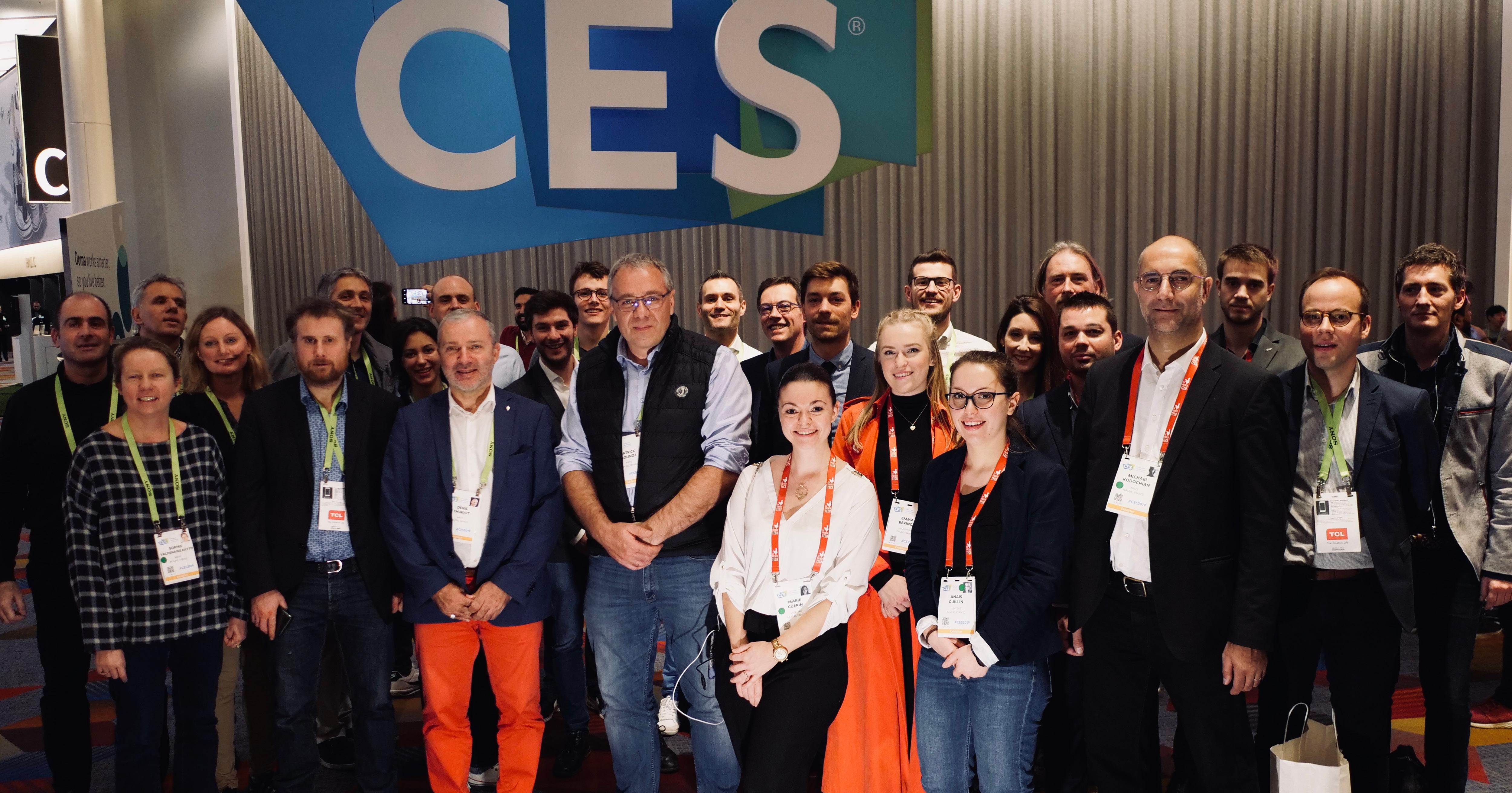 CES Las Vegas 2019 Délégation régional Bourgogne Franche-Comté