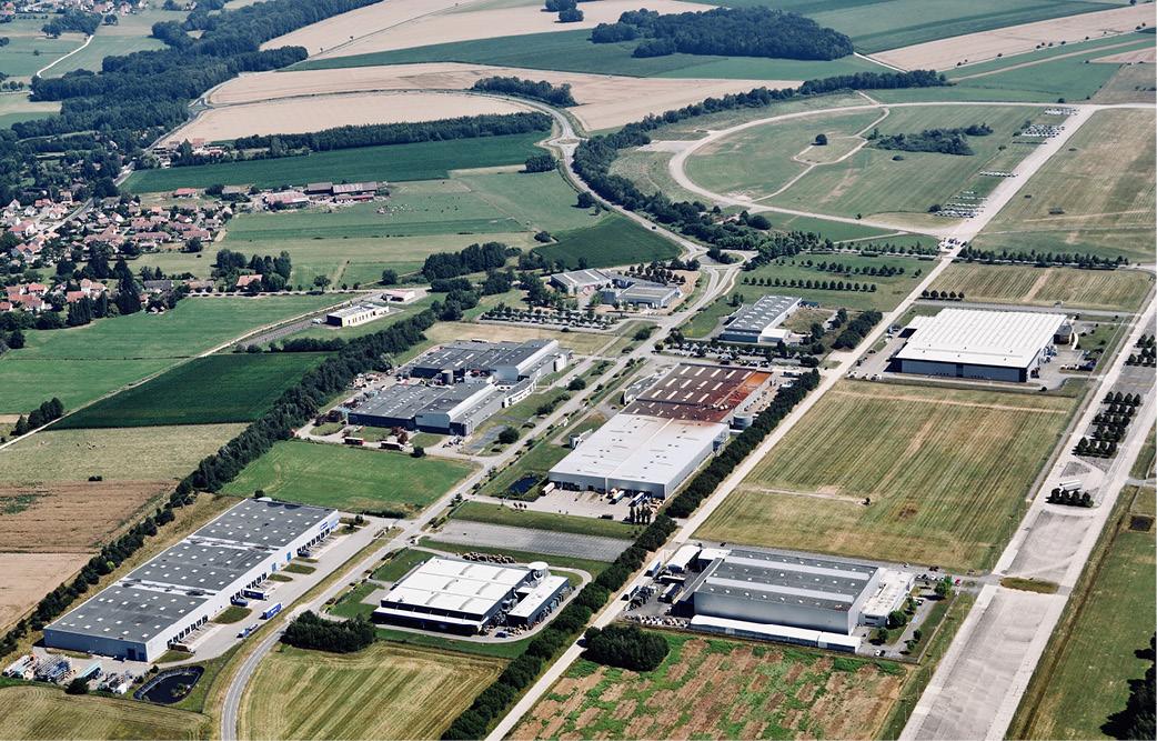 L'offre logistique se développe sur l'aéroparc de Fontaine 