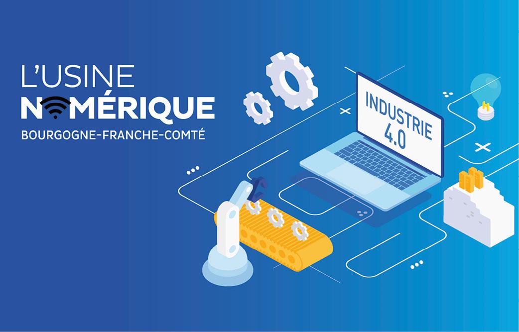 Entrez dans l'ère de l'industrie 4.0 avec le programme régional usine numérique Bourgogne Franche-Comté