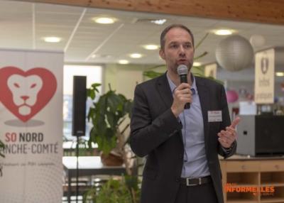 Les Informelles : présentation de l'ADAPEI par Jean-Michel LAFORGE