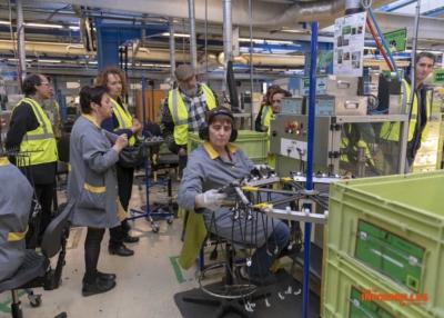 Les Informelles à l'ADAPEI du Doubs : visite des ateliers