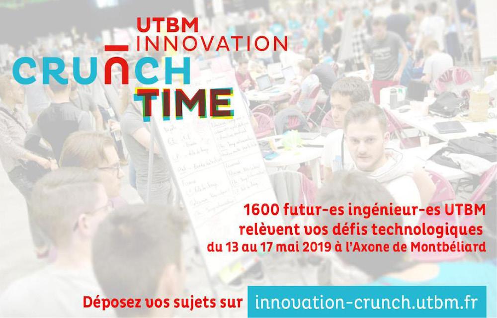 Innovation Crunch Time 2019 - UTBM