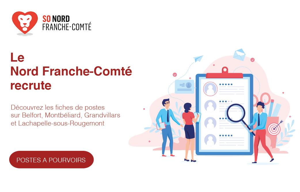 Recrutement en Nord Franche-Comté