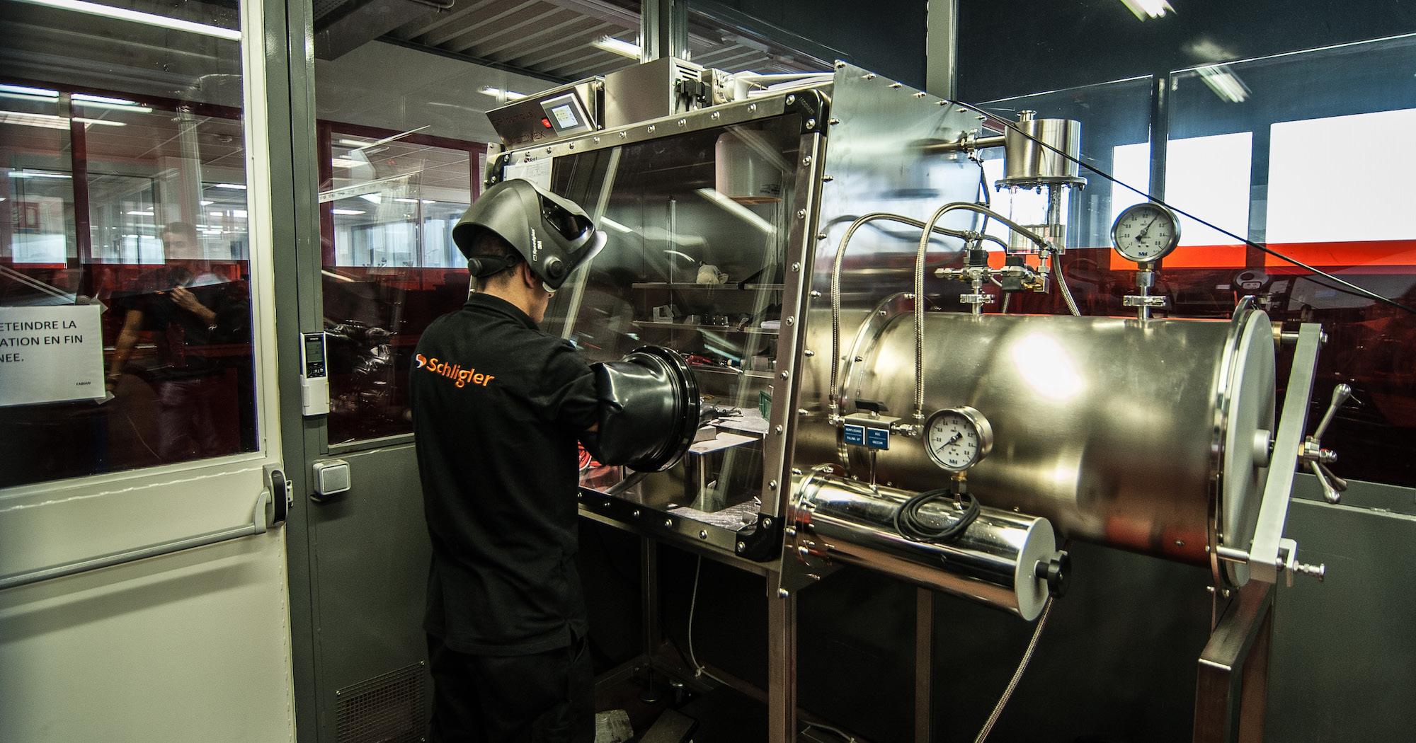 Schligler - fabrication de pièces industrielles mécaniques et la tôlerie de précision
