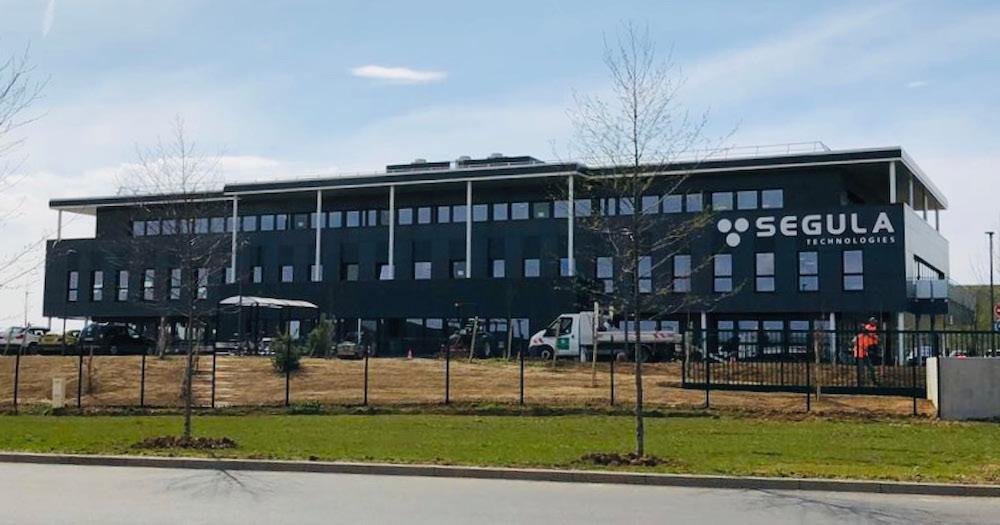 Nouveau technocentre pour Segula Technologies à Technoland 2 - bâtiment ext