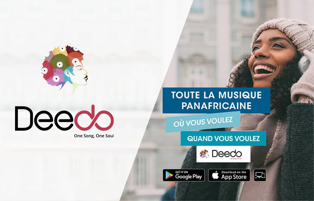 Deedo - musique de streaming panafricaine