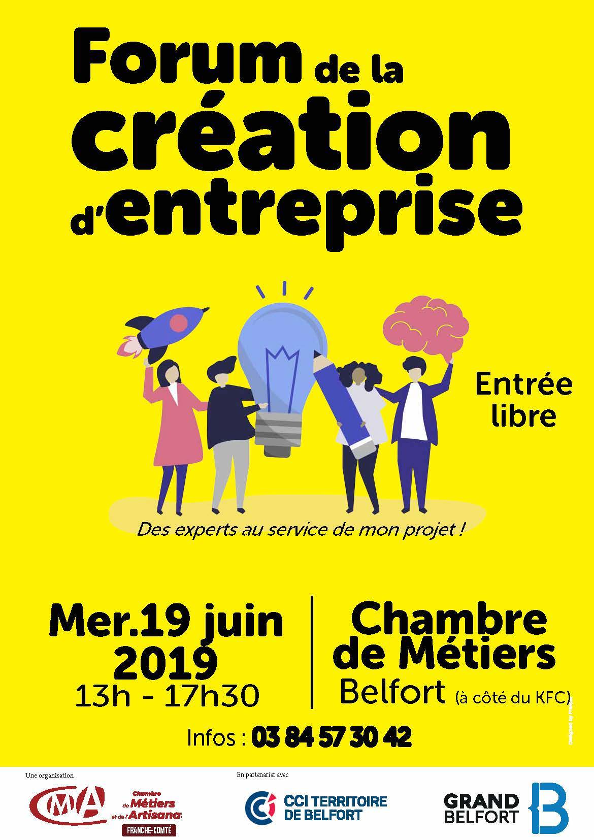 Forum de la création d'entreprise
