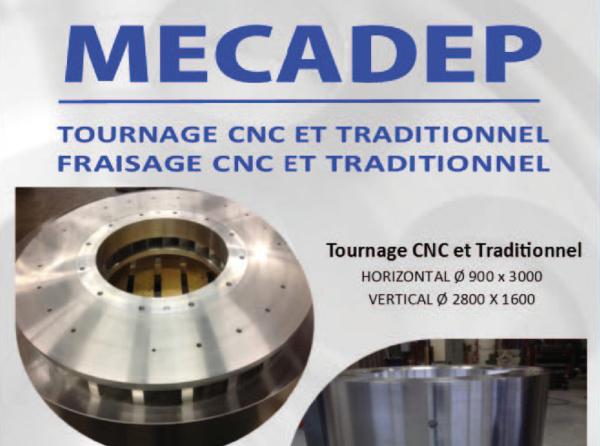 Transmission d'entreprise à toute vapeur chez MECADEP