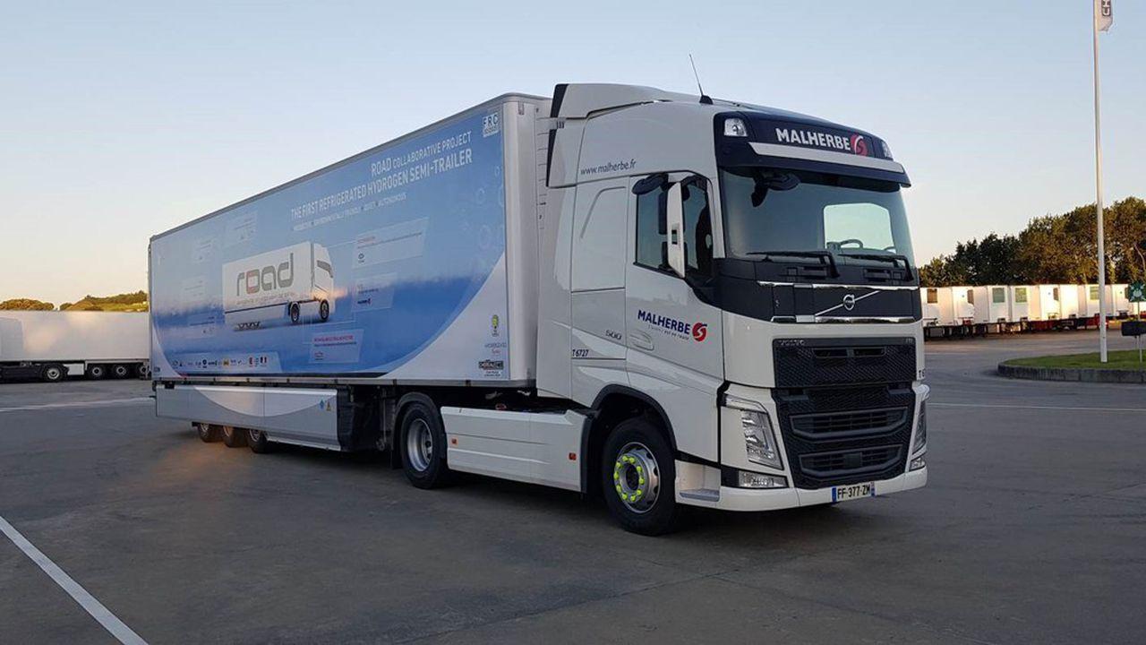 Camion - hydrogène