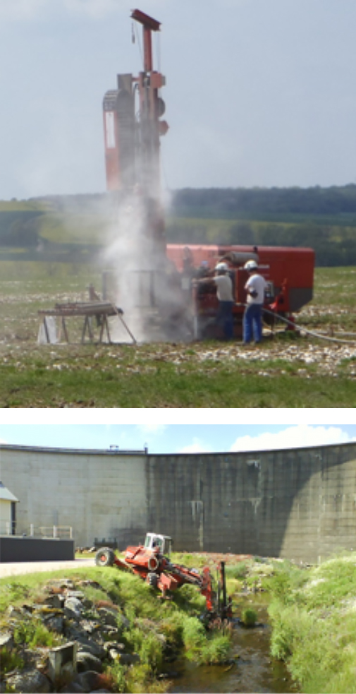 Hydrogeotechnique - Etudes des sols et fondation
