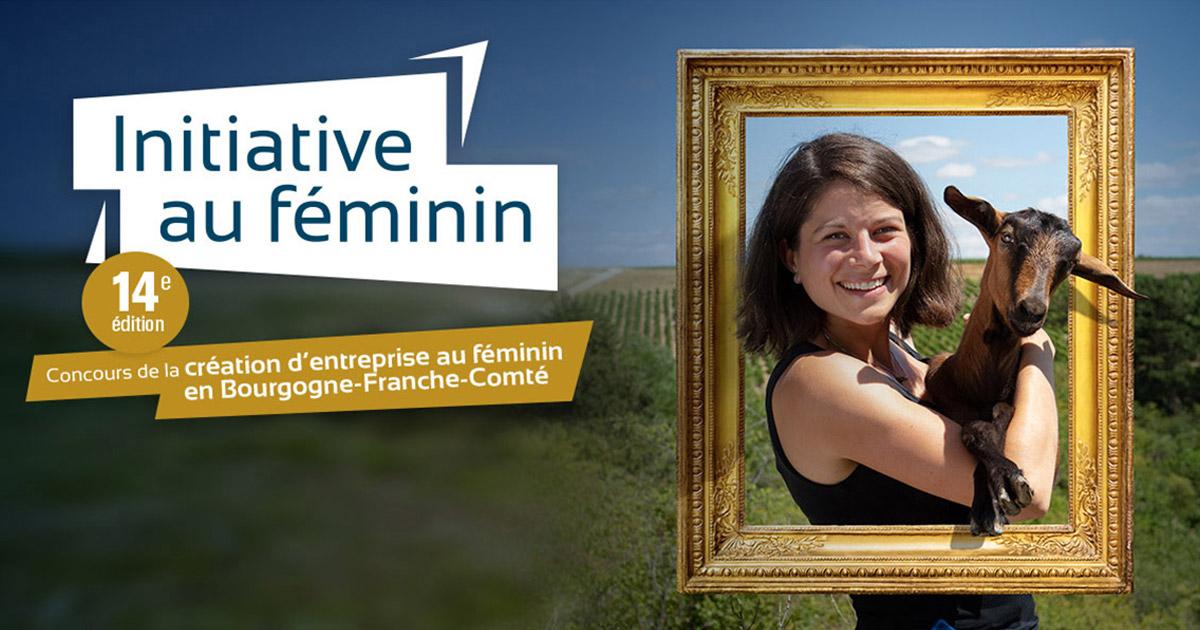 Concours Initiative au feminin en Bourgogne Franche-Comté 2019