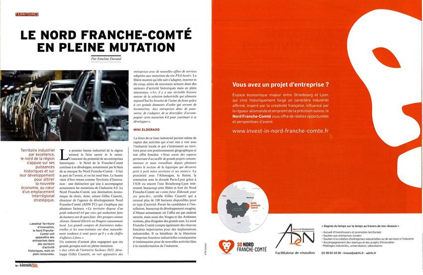 Le Nord Franche-Comté en pleine mutation - octobre 2019