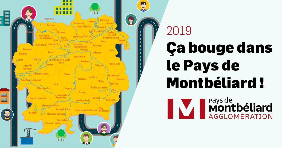 2019, ça bouge dans le Pays de Montbéliard