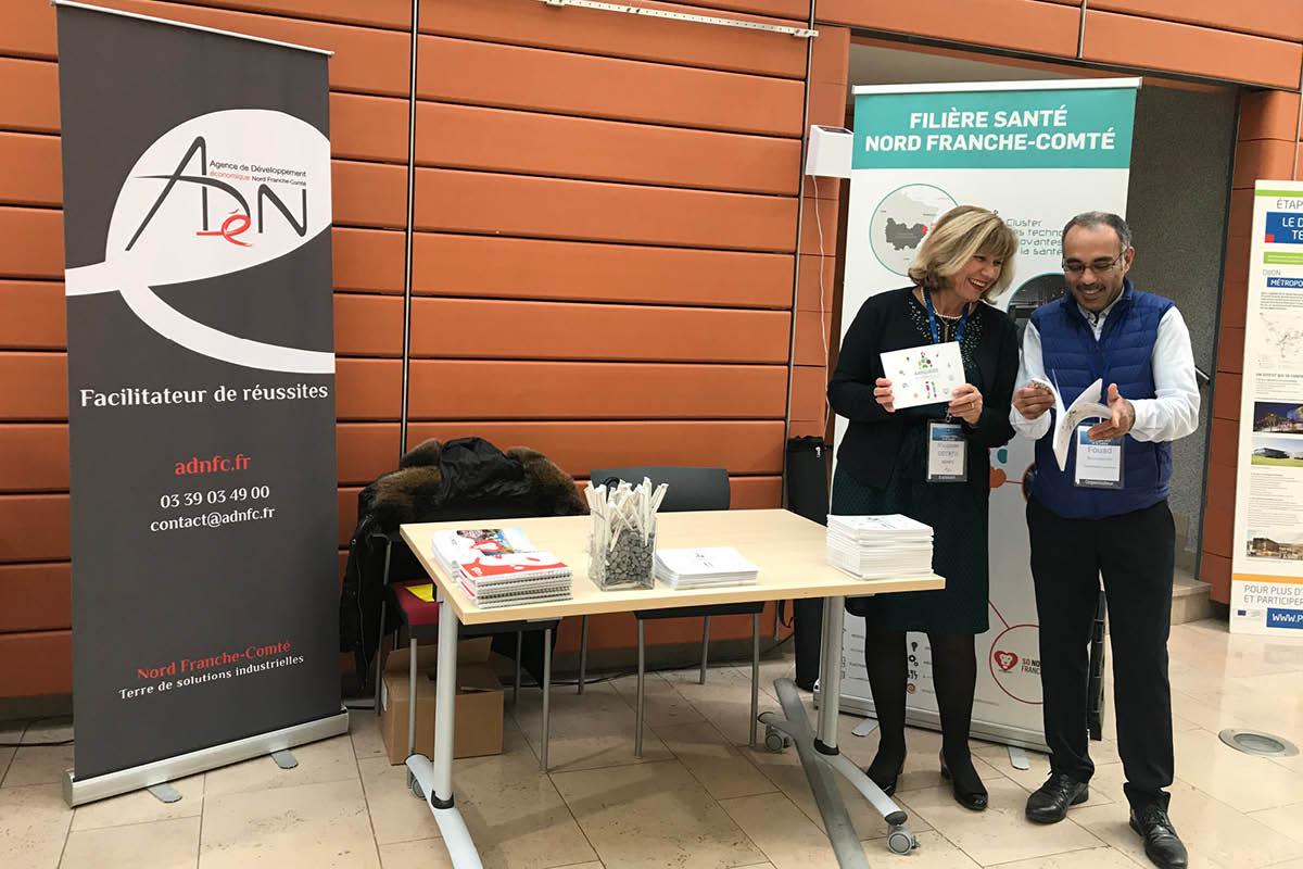 5e colloque OCS et IA Dijon 2019 - ADN-FC - Cluster des Technologies Innovantes de la Santé