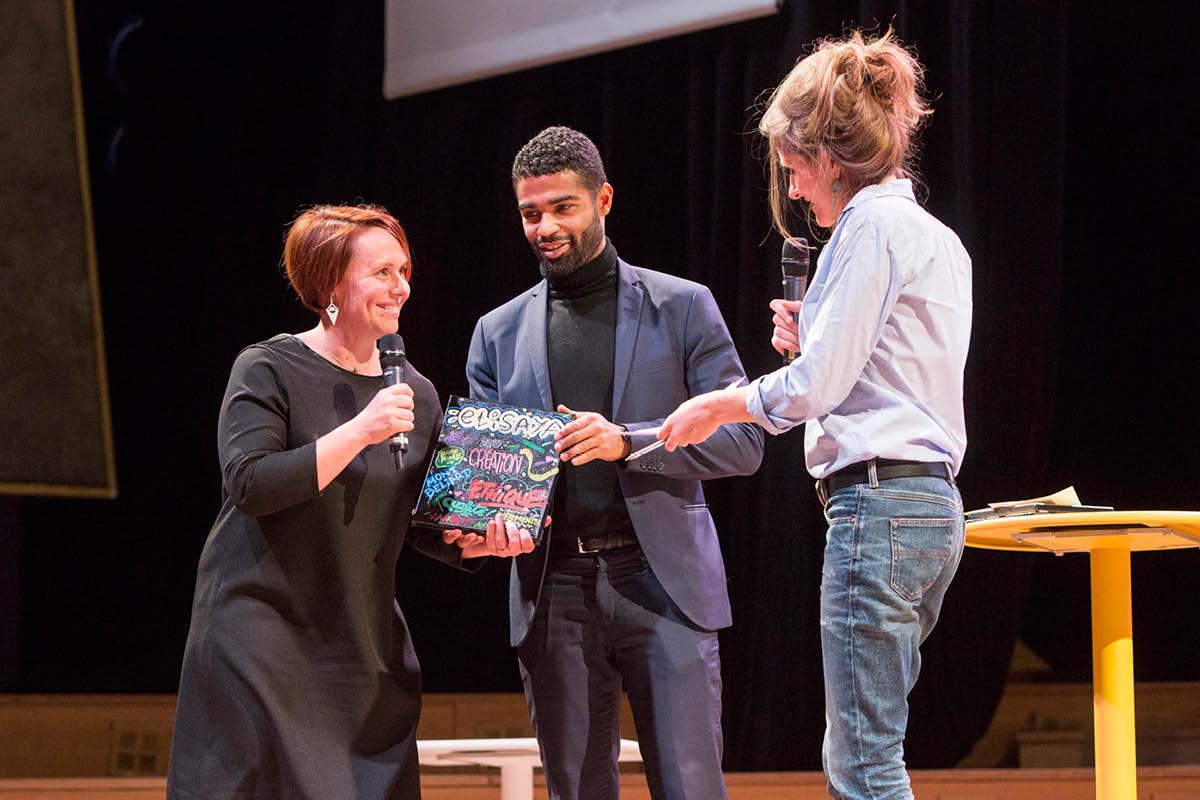 Elisaya, lauréate du concours Talents des Cités 2019 - Crédit photo : David Delaporte