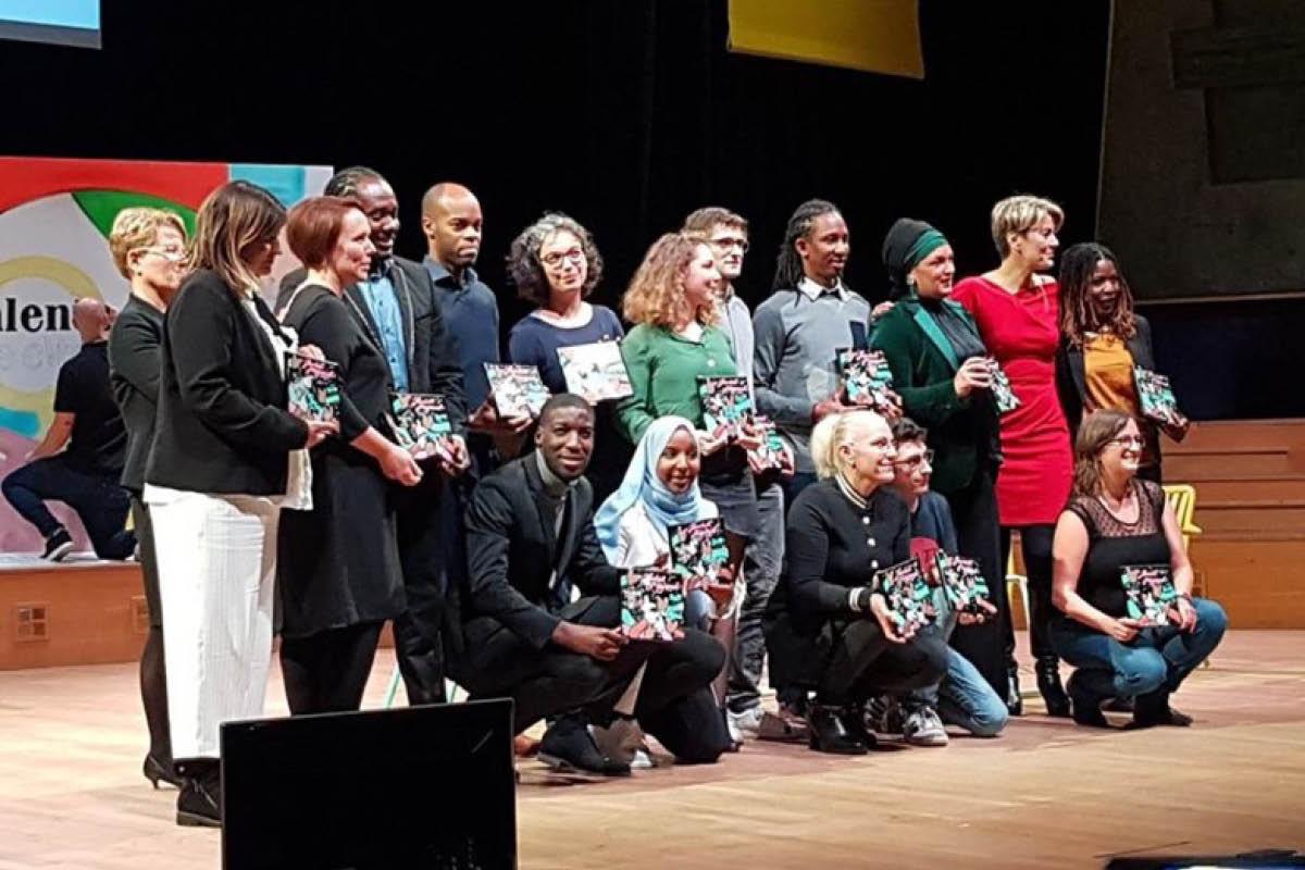 Elisaya, lauréate du concours Talents des Cités 2019