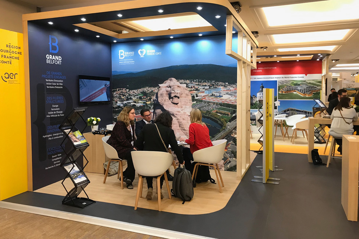 SIMI 2019 - Stand Bougogne Franche-Comté - Espace Grand Belfort