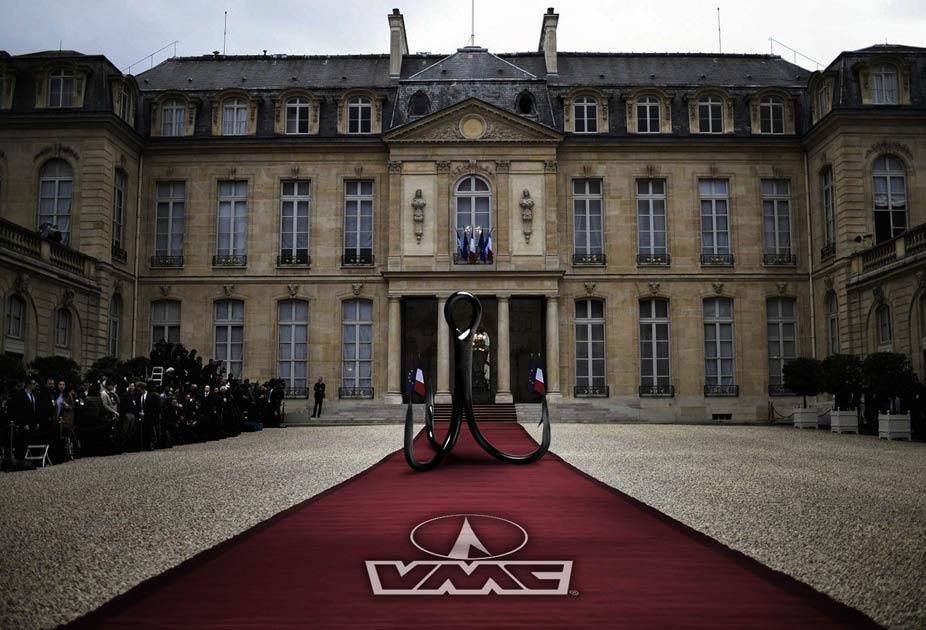 Hameçon VMC à l'exposition Fabriqué en France - Elysée