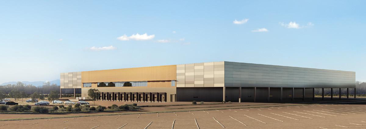VECTURA Bâtiment centre de messagerie Aéroparc de Fontaine (90) -vue2