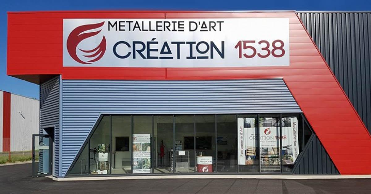 Création 1538, métallerie d'art à Vieux-Charmont