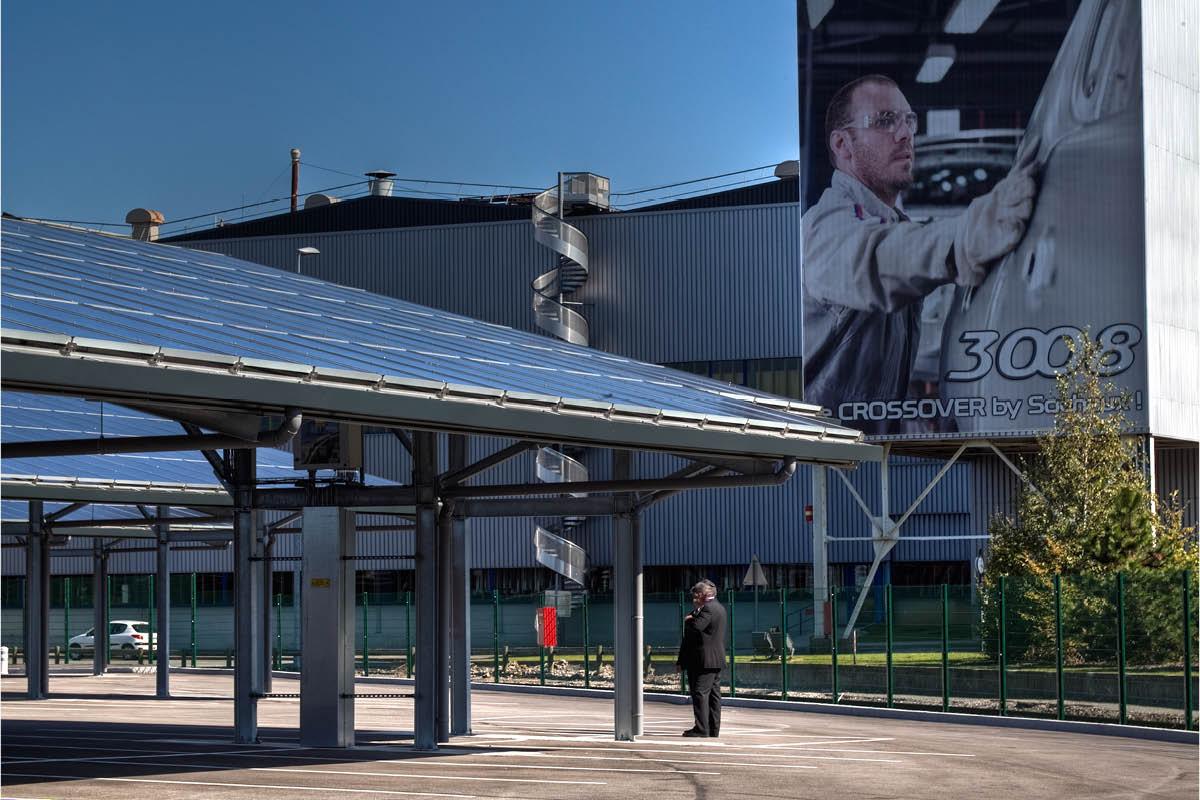 Panneaux photovoltaïques - PSA Sochaux