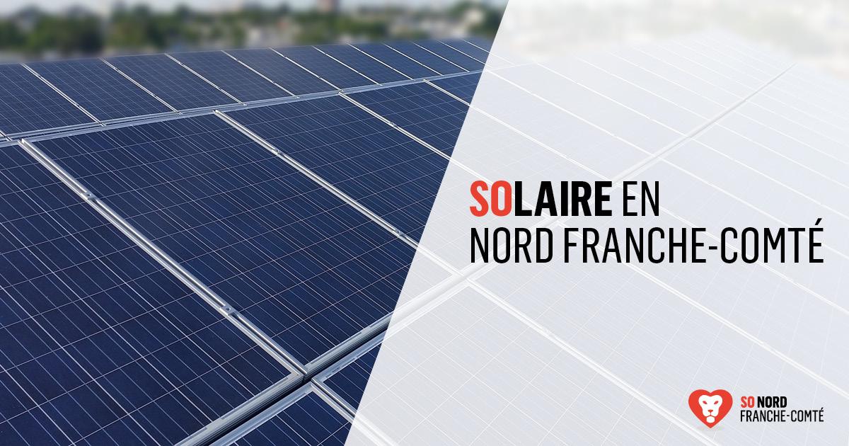 L'énergie solaire en Nord Franche-Comté