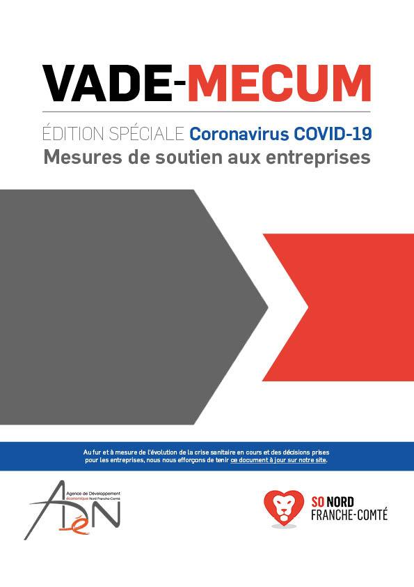 VADE-MECUM Edition spéciale « Coronavirus COVID-19 » – Mesures de soutien aux entreprises