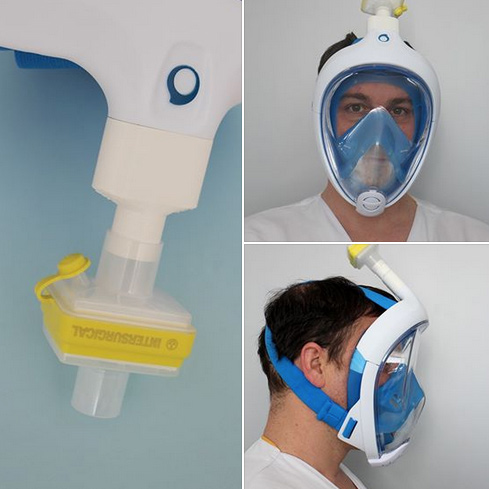 COVID-19 masque UTBM Hôpital Nord Franche-Comté