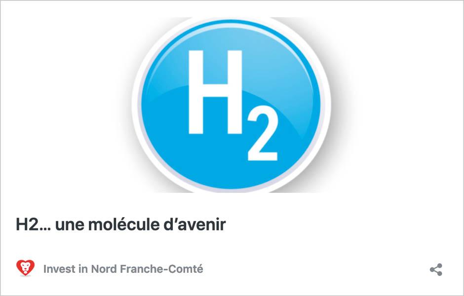 H2… une molécule d'avenir