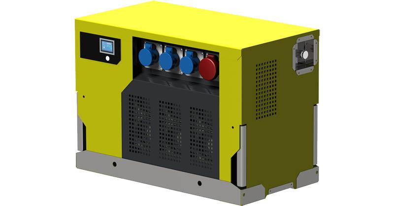 Groupe électrogène à hydrogène - H2SYS