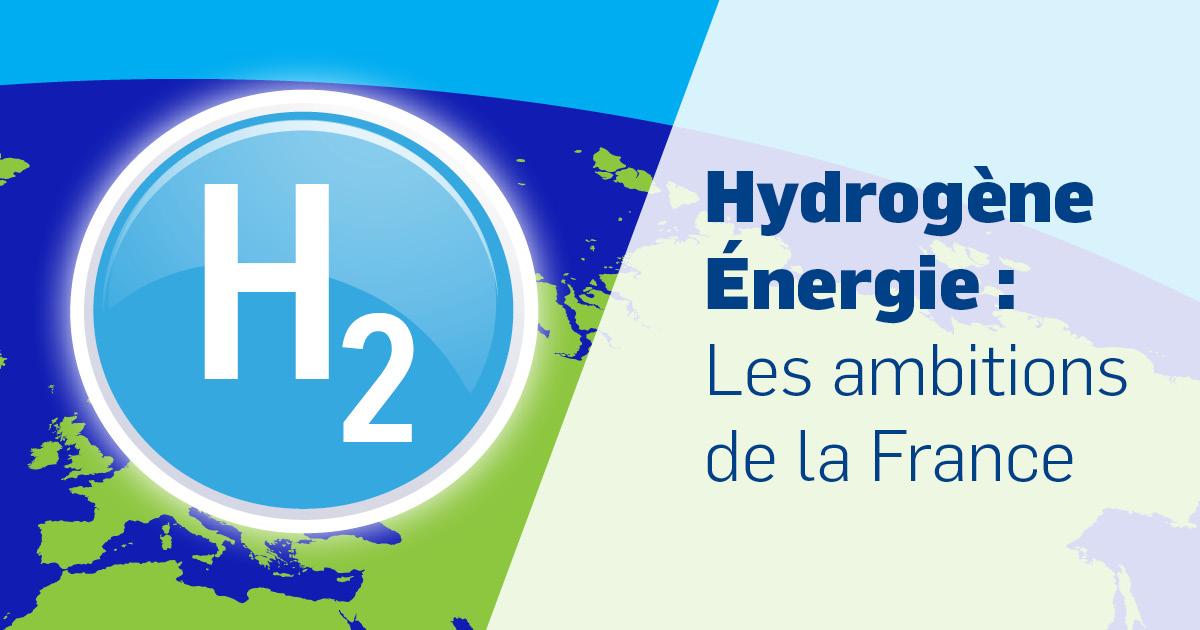 Hydrogène Energie : les ambitins de la France