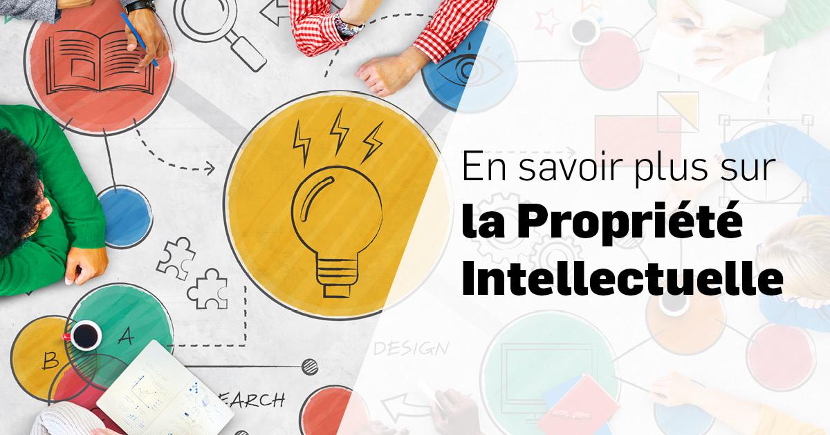 En savoir plus sur la Propriété Intellectuelle