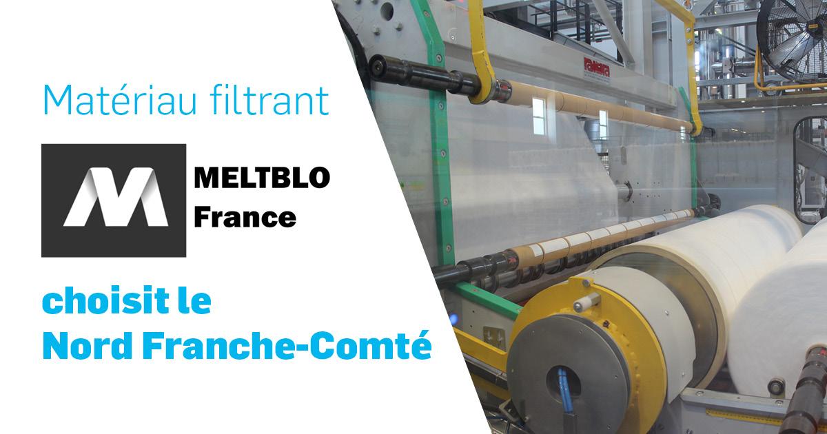 Meltblo France choisit le Nord Franche-Comté