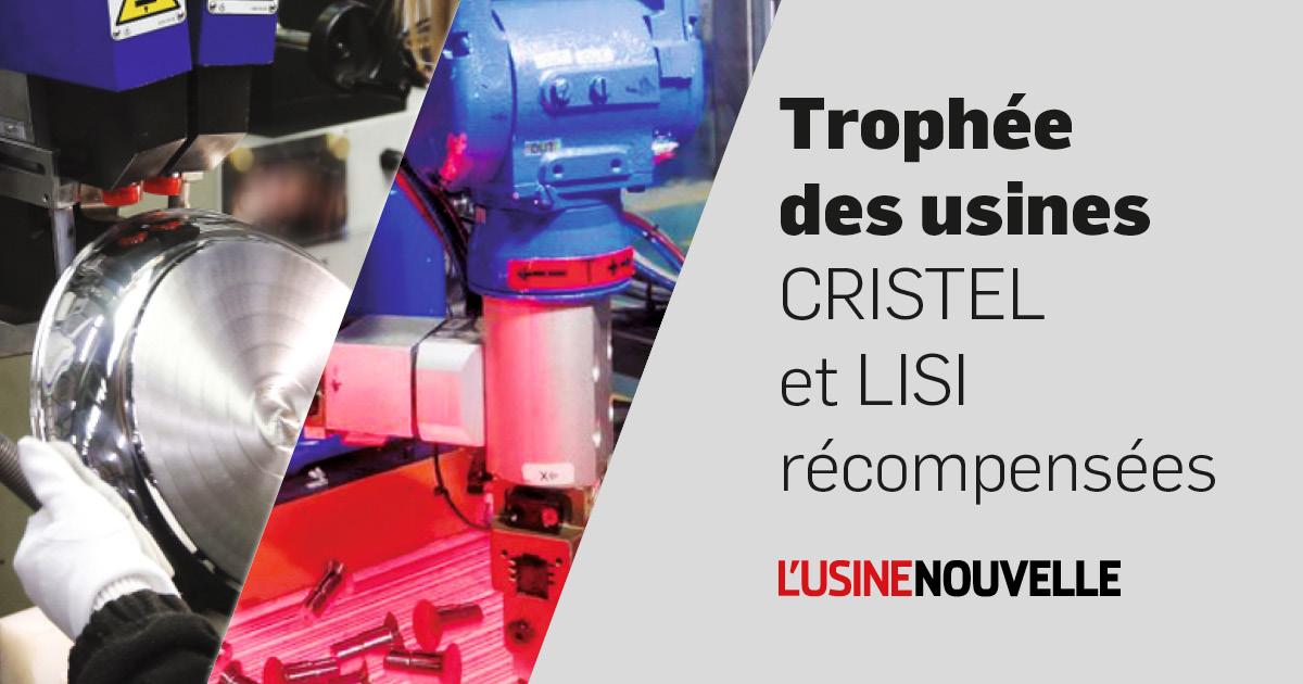 Trophée des usines 2020: Cristel et Lisi récompensées