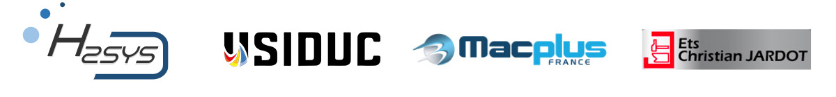 logos H2SYS USIDUC MACPLUS JARDOT
